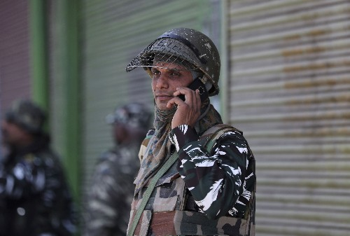 India restores post-paid cellphone services in Kashmir