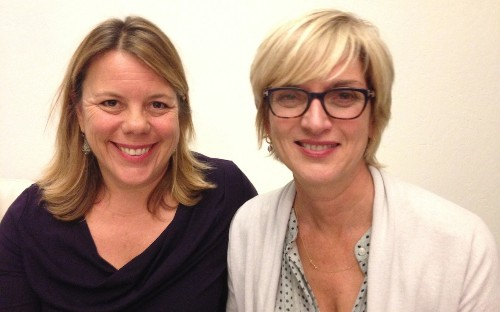 On the Red Couch with Shebooks' Peggy Northrop and Laura Fraser