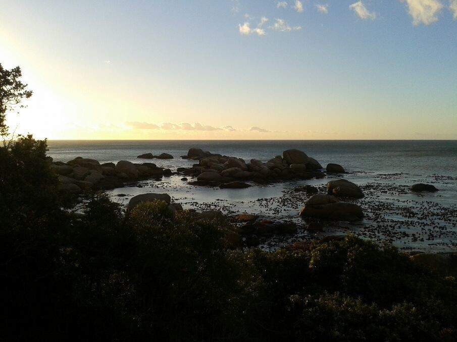 End of the continent in the Cape.