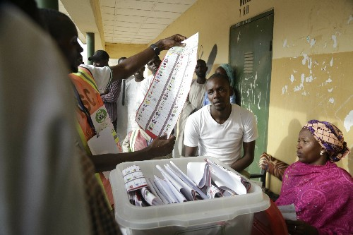 The Latest: Nigeria's leader already claiming election win