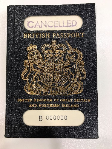Back to blue: UK passports revert to old colour from next month