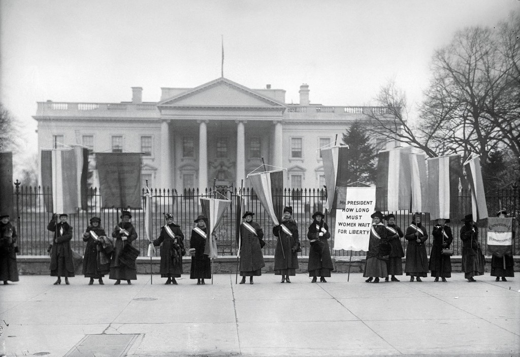 Women's suffrage and a century of fighting for equality