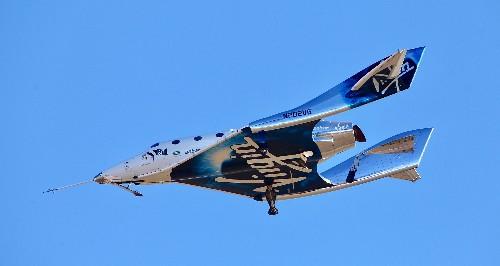 Virgin Galactic rocket ship reaches space in test flight