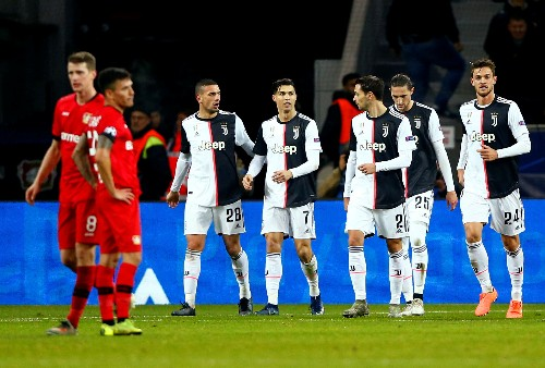 Ronaldo and Higuain on target as Juve beat Leverkusen 2-0
