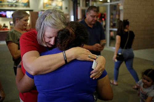 'Hate will not overcome love', El Paso shooting memorial attendees told