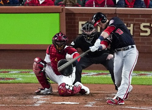 Sánchez shines as Nationals beat Cards 2-0 in NLCS opener
