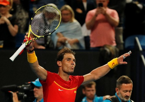 Nadal and Djokovic make winning start in ATP Cup