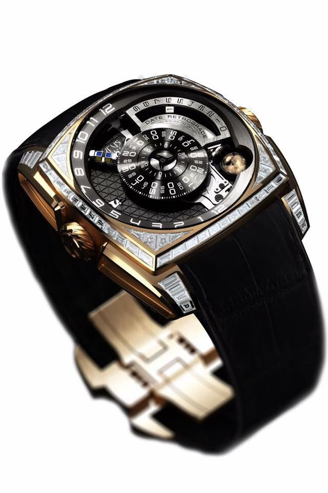 Cyrus Watches Klepcys Moon, Tradition, fantastic innovation automatic high timing movement