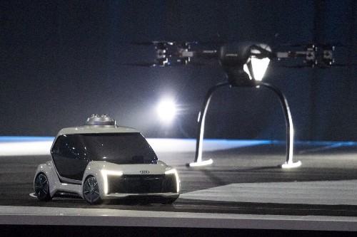 The Pop.Up Next Drone Unveiled in Amsterdam: Pictures