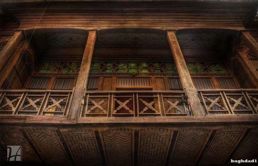 شناشيل بيوت بغداد القديمة