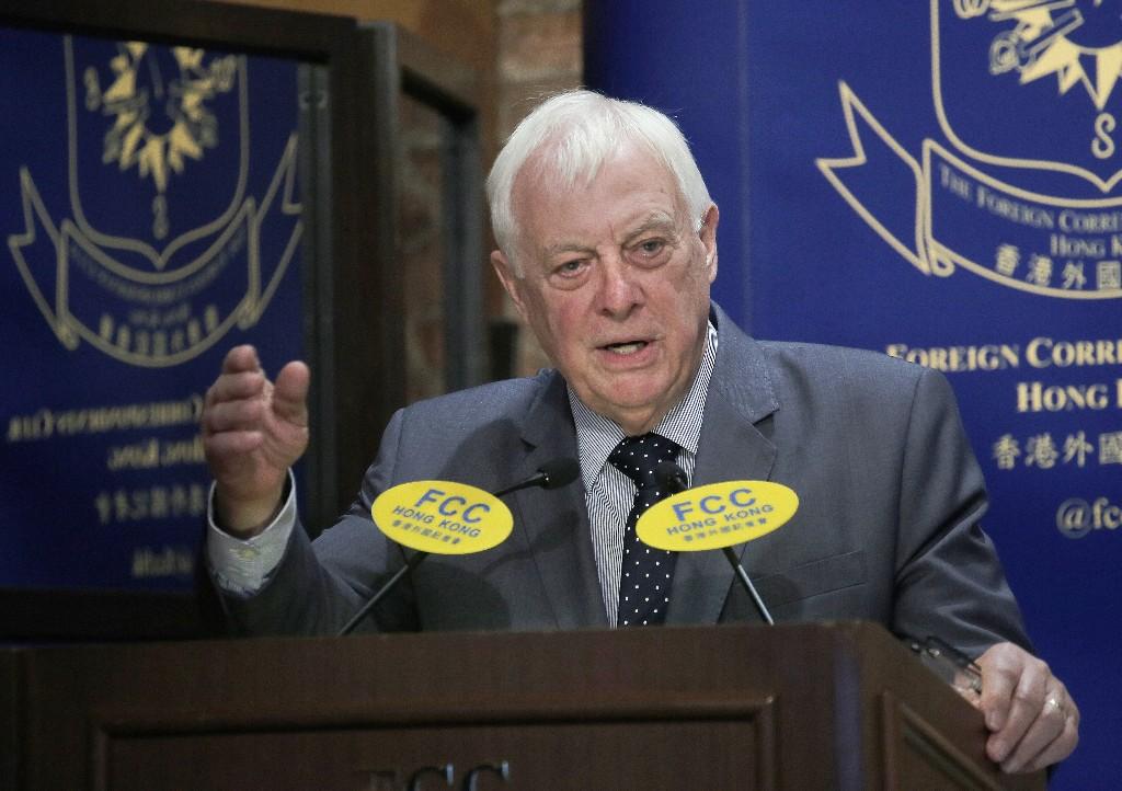 Last British governor says Hong Kong 'betrayed' by China