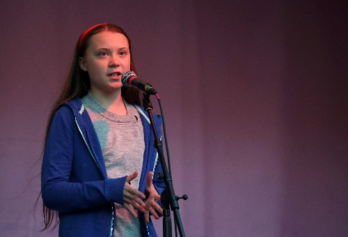 Swedish teen climate activist joins London protest as arrests top 830
