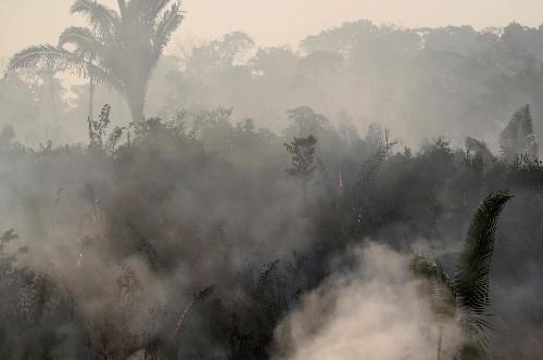 France's Macron calls Amazon fires an international emergency