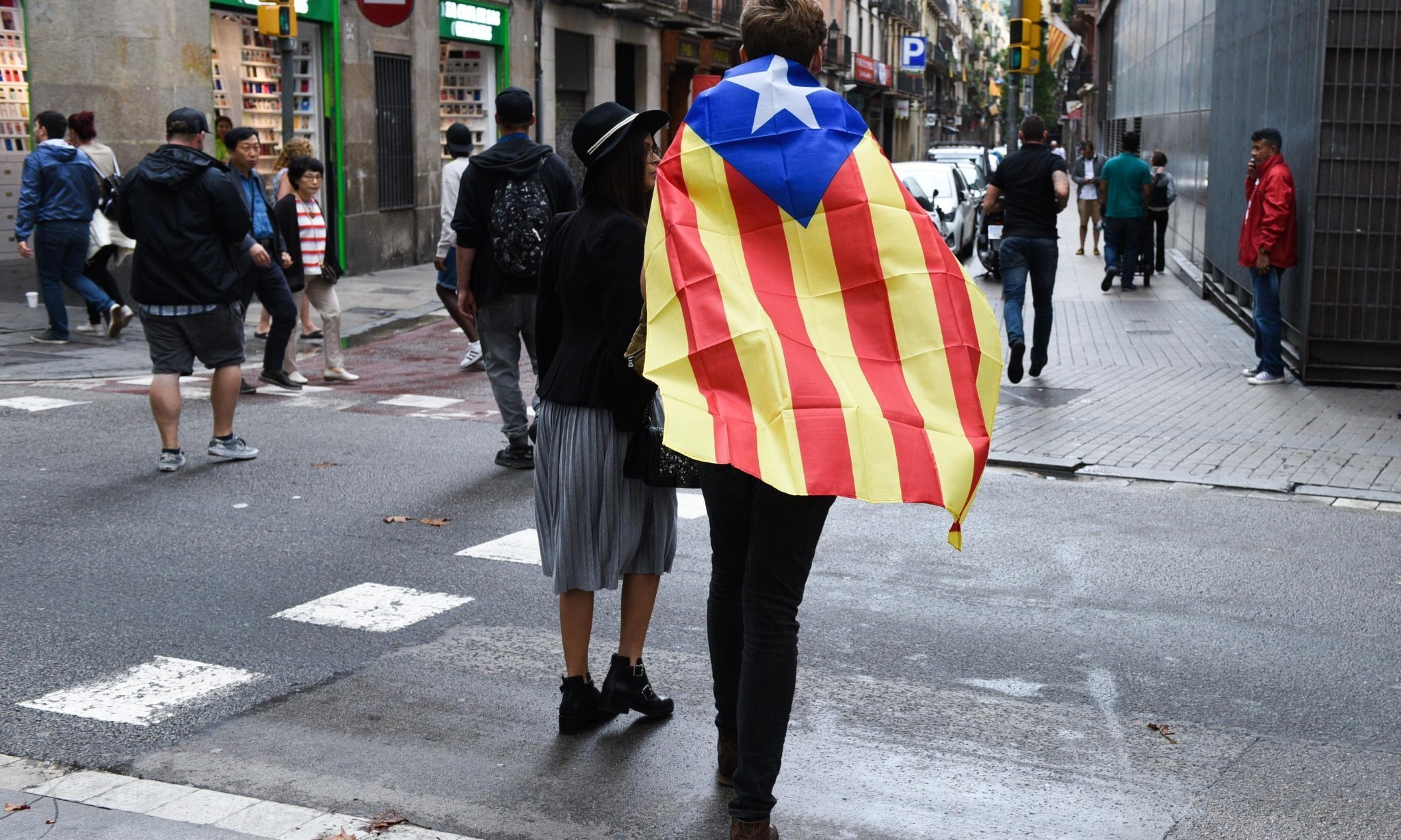 Catalonia referendum: region holds emergency meeting after tumultuous poll