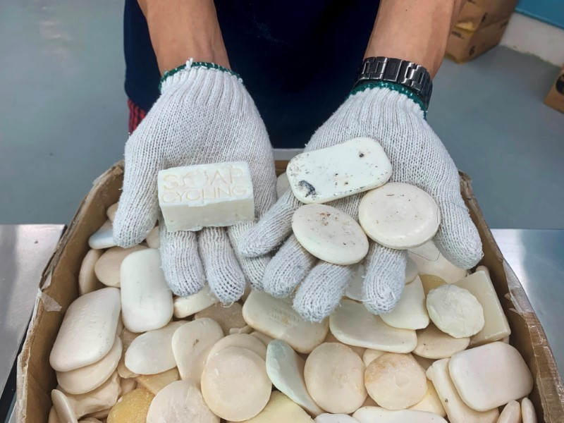 From five-star hotels to the homeless, Hong Kong NGO recycles soap