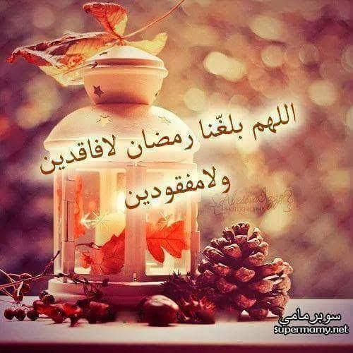 رائحة شهر المحبة تزداد يوم بعد يوم ليعلن قربه فاللهم بلغنا رمضان