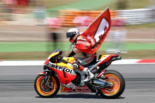Motorcycling: Marquez wins Catalunya GP after Lorenzo takes out rivals