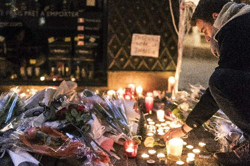 Gunman from Christmas market attack in France still at large