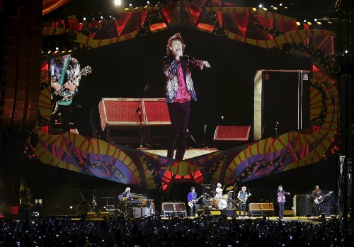 The Rolling Stones Play Havana: Pictures