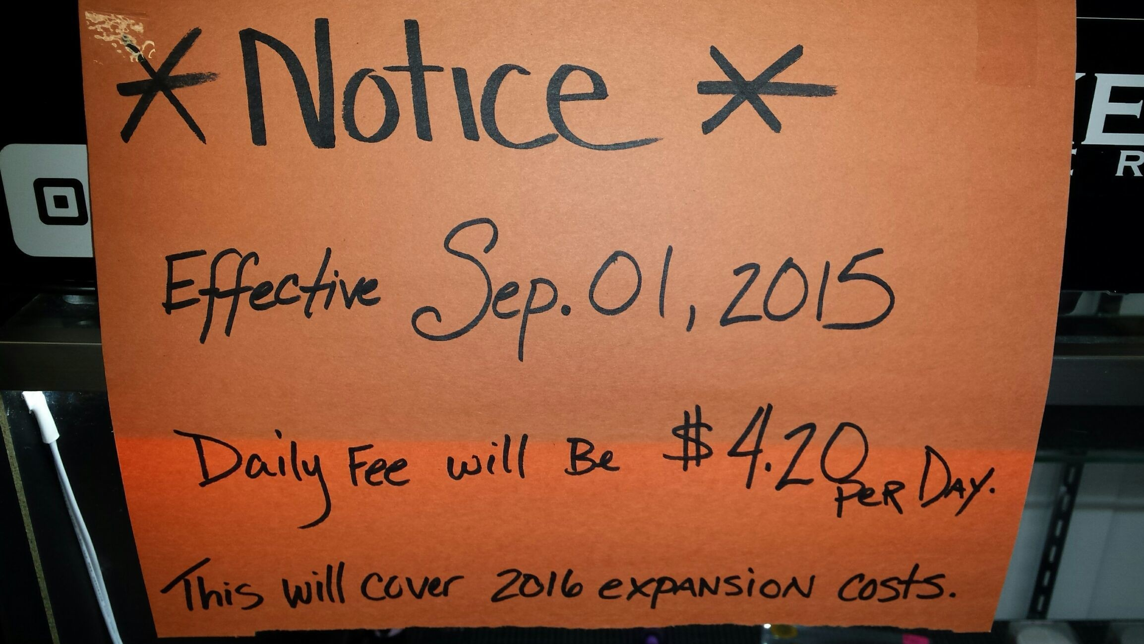 To cover 2016 expansion costs, effective September 1st, 2015 the #iBakeDenver daily fee will be $4.20. Thank you for being part of #iBakeFamily and helping the #iBakeEmpire grow!