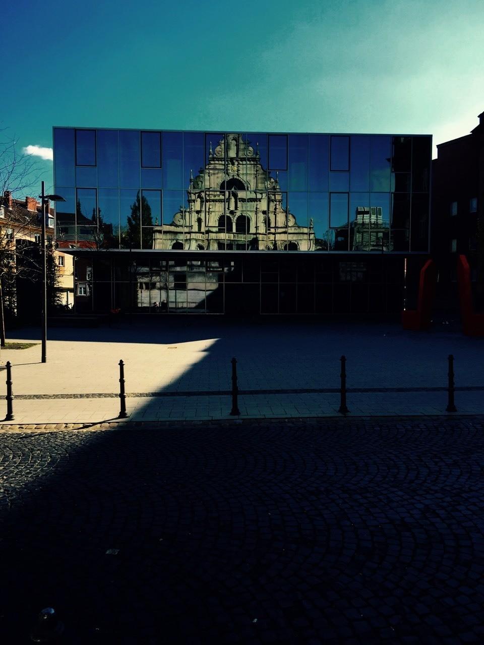 Aachen , Aula Gymnasium St. Leonard