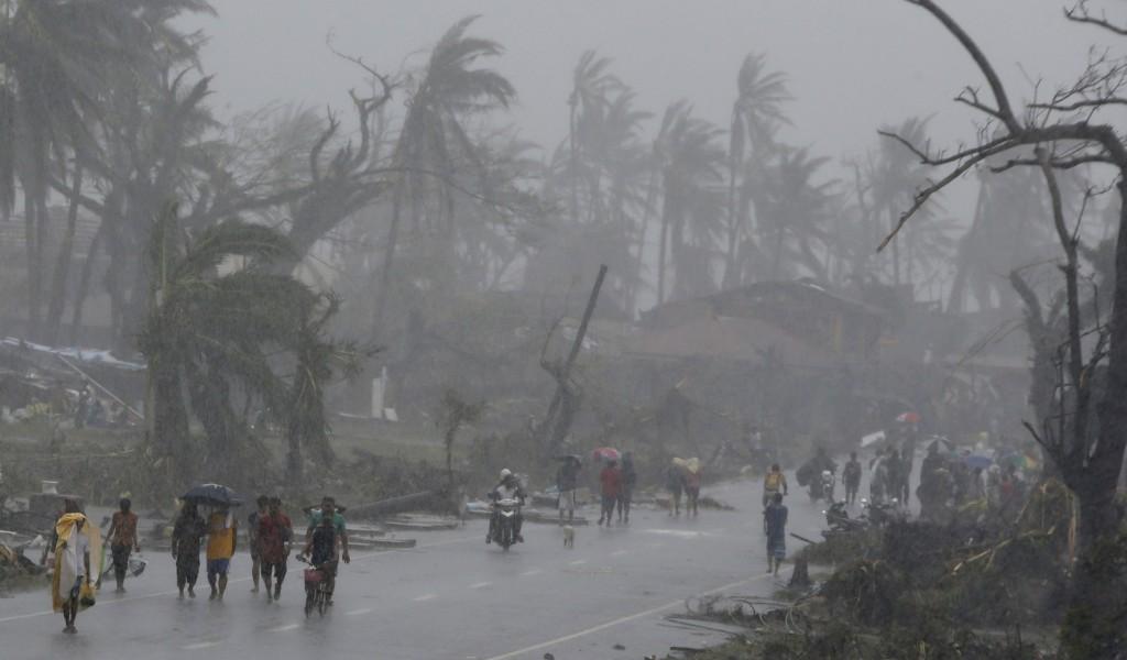 Typhoon Yolanda - Magazine cover