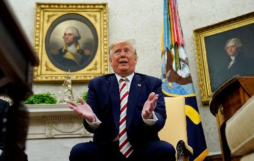 As economic warning signs flash, Trump, Democratic rivals recalibrate messages