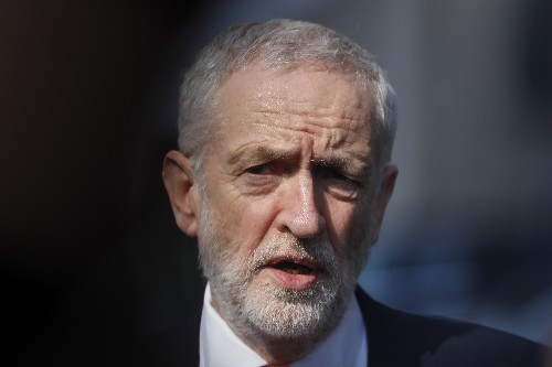 UK opposition leader Corbyn turns down Trump dinner invite