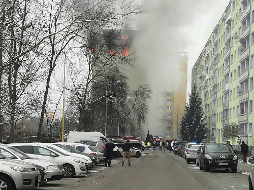 Deadly explosion in Slovakia; buildng at risk of collapse
