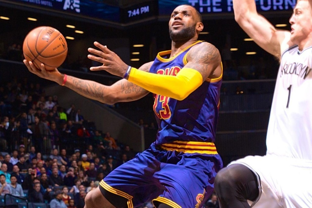 LeBron James Passes Patrick Ewing for 20th on NBA's All-Time Scoring List