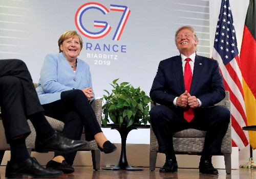 Trump moves to ease tensions over China, Iran as G7 summit wraps up