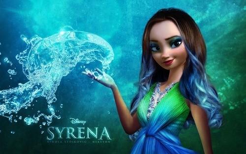 Water version of Elsa...