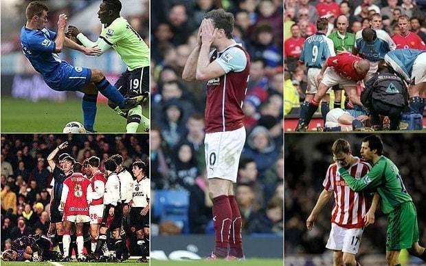 Premier League's worst ever tackles