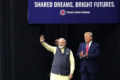 'Howdy, Modi!': Thousands, plus Trump, due at Texas rally for India's leader