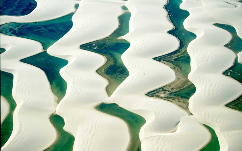 Go Swimming in the Brazilian Desert in These Lagoons That Appear Like Magic Every Year