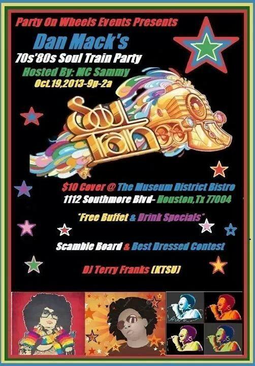 Annual Dan Mack's 70's /80's Soul Train Party
