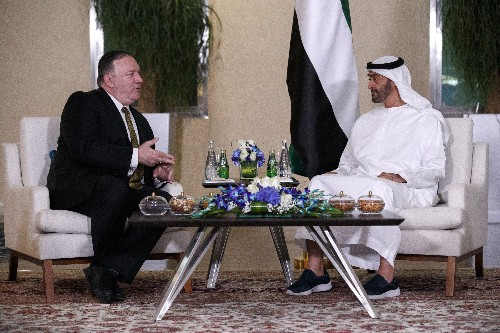 Pompeo in Mideast talks on building a coalition against Iran