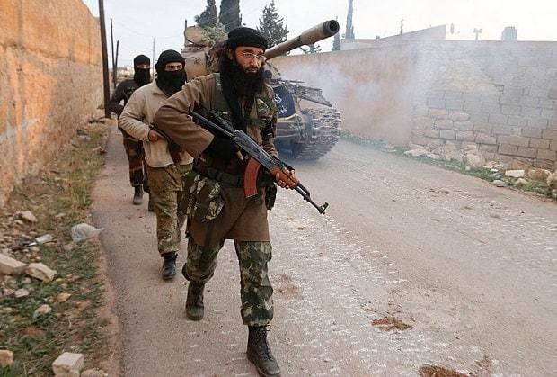 US-trained Division 30 rebels 'betrayed US and hand weapons over to al-Qaeda's affiliate in Syria'