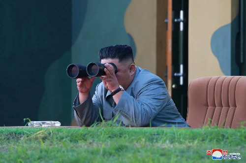 North Korean leader Kim oversaw test of 'super-large multiple rocket launcher': KCNA