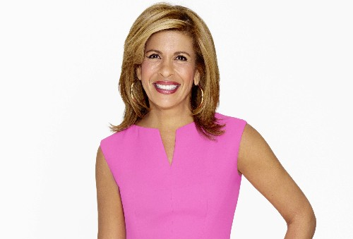 On the Red Couch with Hoda Kotb for NBC's Season of Kindness