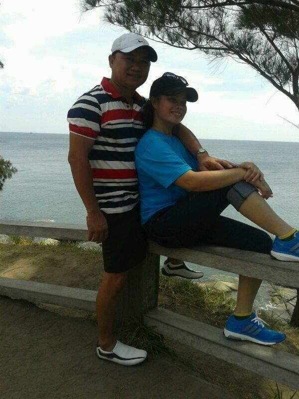 Memory at simpang mengayau with my love..