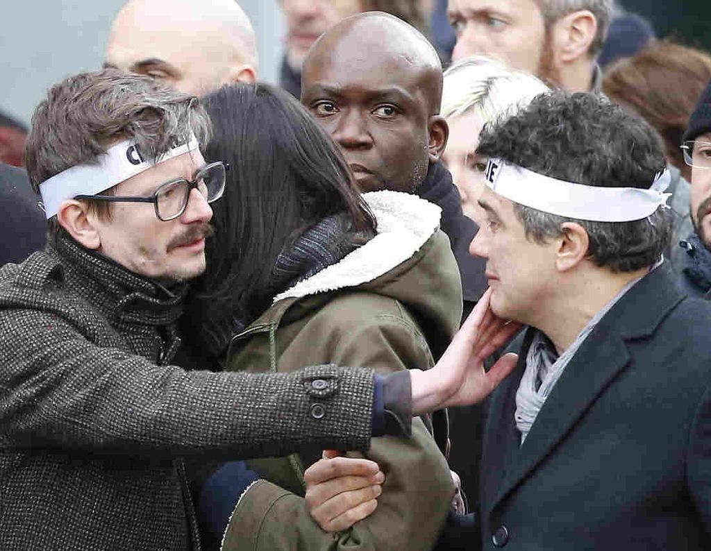 'Charlie Hebdo' Editor On New Issue: 'We're Happy To Have ... Done It'