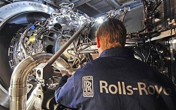 Rolls-Royce suffers first fall in annual revenues in a decade