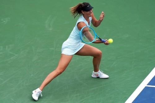 Tennis: Barty beats Sharapova, Halep survives scare in Cincinnati