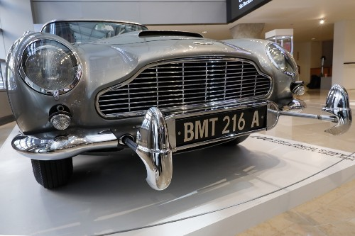 James Bond Aston Martin Up for Auction: Pictures