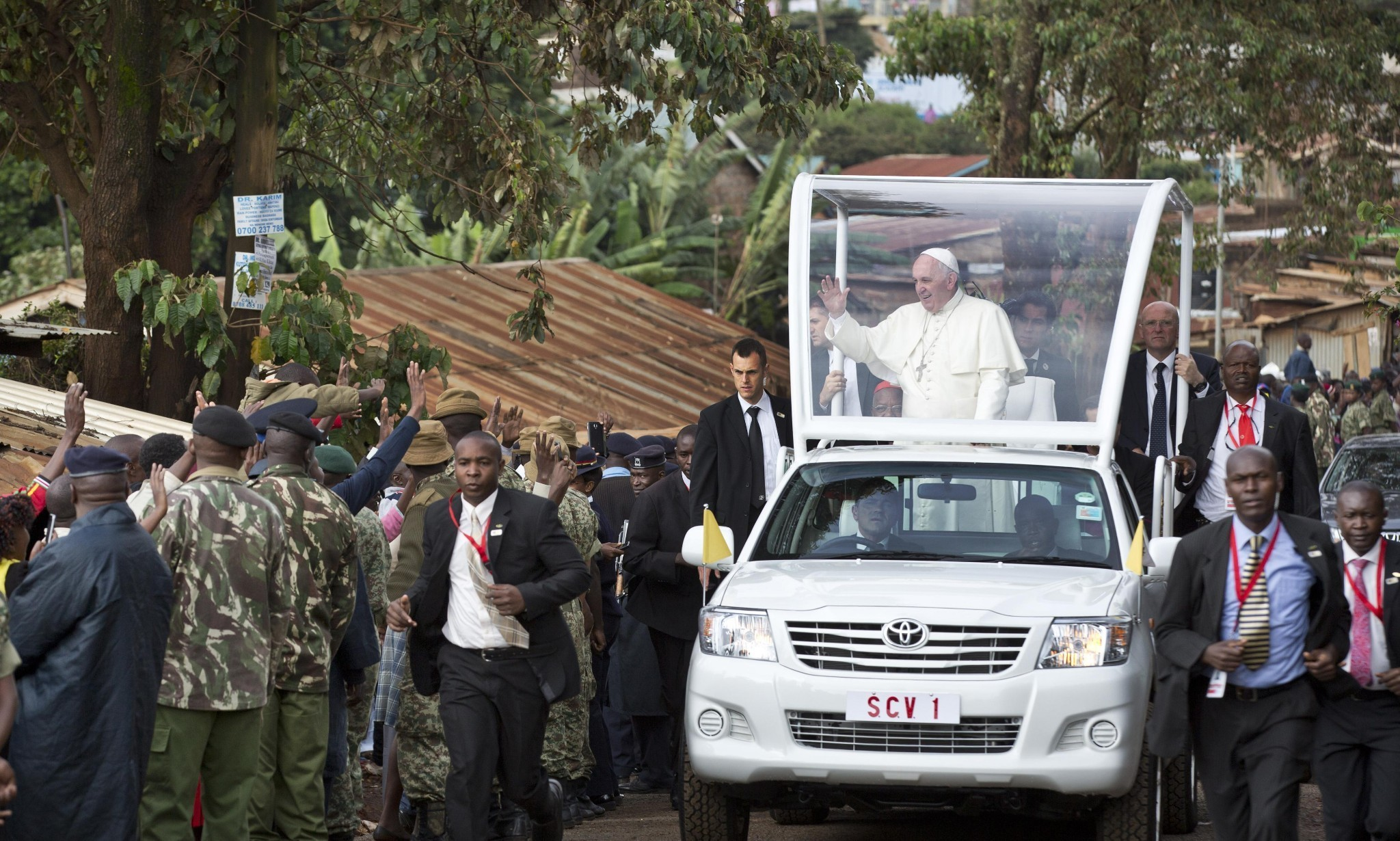 Pope Francis criticises 'new colonialism' in Kenya speech