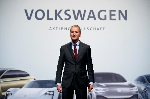 Volkswagen boss says U.S. tariffs could cost up to 2.5 billion euros: Financial Times