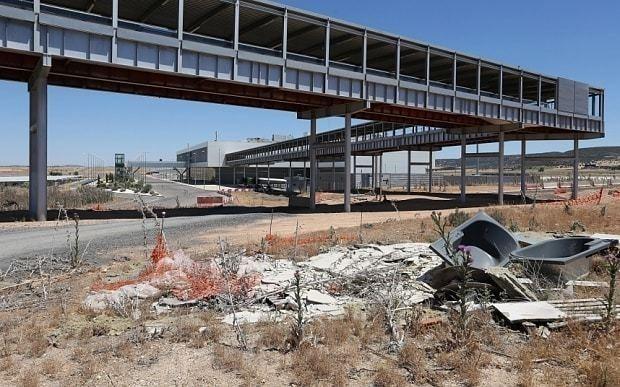British investors buy Spain's €1bn Don Quixote airport for just £7,000