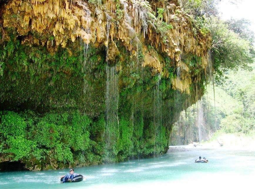 caida de rio chixoy en el kique guatemala