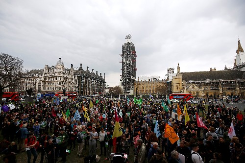 After protests, Britain's parliament declares climate change 'emergency'